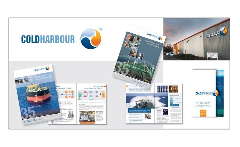 Coldharbour Marine branding